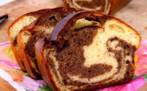 Cake marbré trompe-l'oeil pour l'apéritif