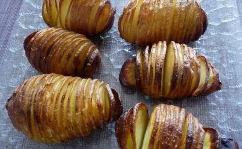 Pommes de terre à la suédoise ou hasselback potatoes