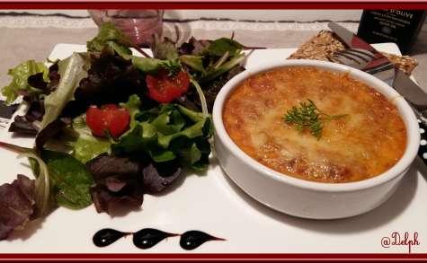 Clafoutis au thon à la tomate