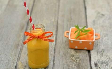 smoothie melon, mangue, coco, verveine citronnée