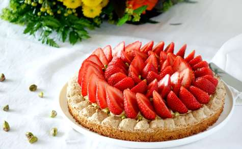 Montebello fraises et pistaches