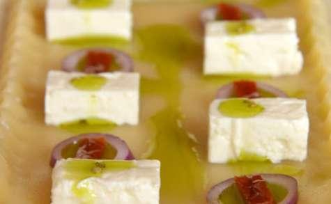 Salade de Pâtes en damier