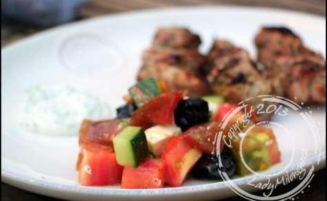 Salade grecque simplissime