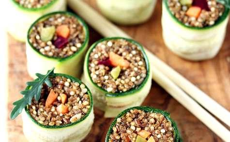 Makis quinoa et courgette