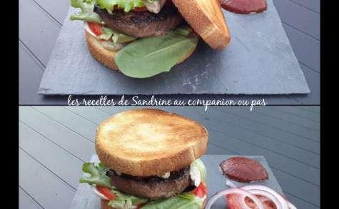 Burger toast et son ketchup maison