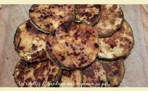 Courgettes croustillantes au parmesan