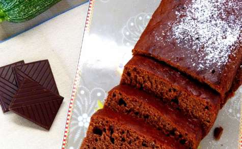 Cake allégé au chocolat en basse température