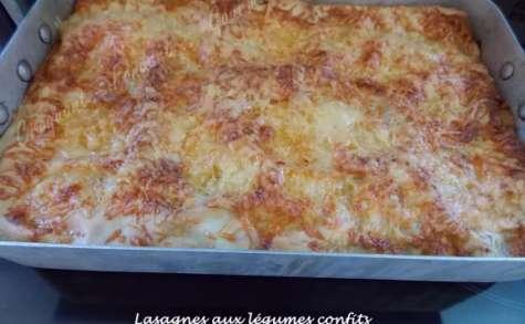 Lasagnes aux légumes confits