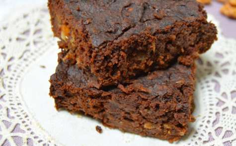 Brownie chocolat noir et patate douce