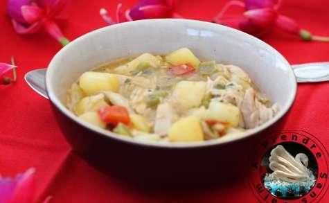 Soupe brésilienne au poulet