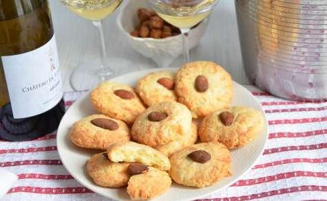Cookies au chèvre et à la purée d'amande
