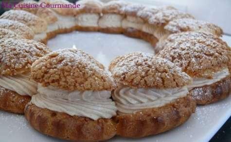 Paris-Brest praliné caramel façon cheesecake