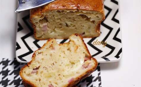 Cake normand pomme camembert