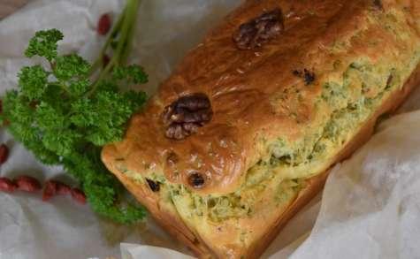 Cake persil, noix et goji