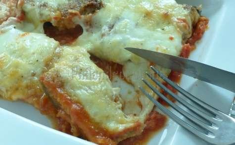 Gratin d'aubergines panées à l'italienne
