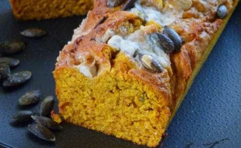 Cake au potimarron et gorgonzola