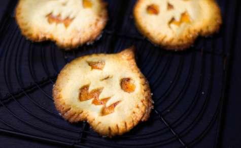 Biscuits citrouilles à la pomme