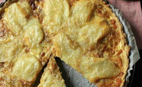 Tarte au potiron et fromage