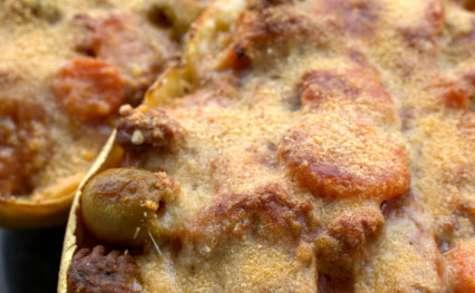 Courge Spaghetti au ragù