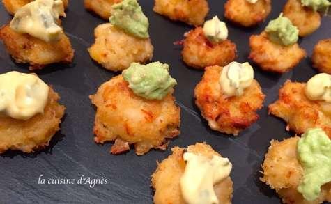 Minigalettes de crabe