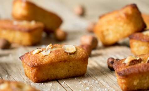 Financiers miel et noisettes