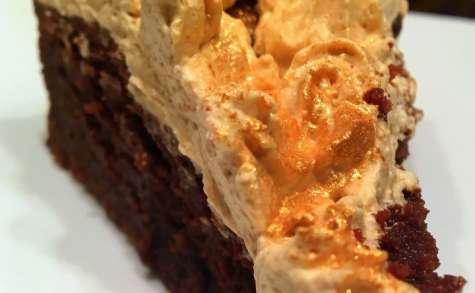 Gâteau choco café extra moelleux et sa chantilly