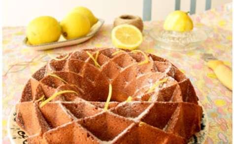 Gâteau au fromage blanc citron coco