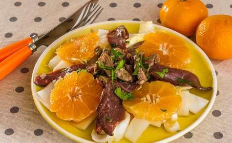 Salade de canard aux clémentines