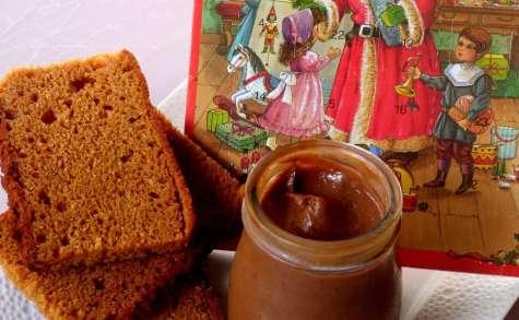 Pâte à tartiner au pain d'épice sans lactose