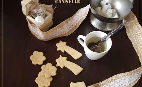 Petits Sablés de Noël à la Cannelle