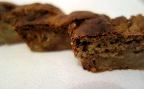 Gâteau healthy poires châtaignes
