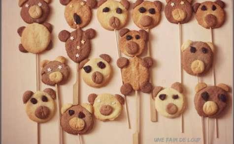 Sablés en forme d'oursons
