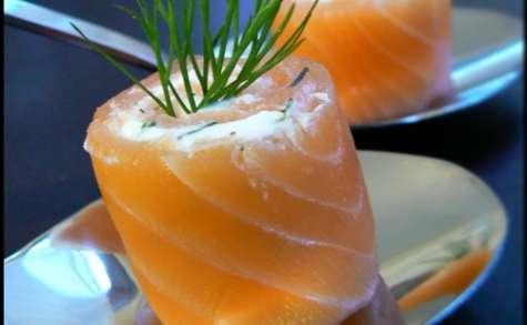 Saumon fumé bio à l'aneth et l'huile d'argan