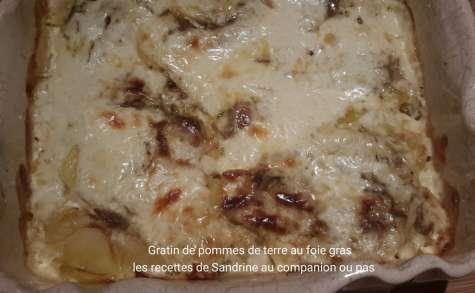 Gratin de pommes de terre au foie gras