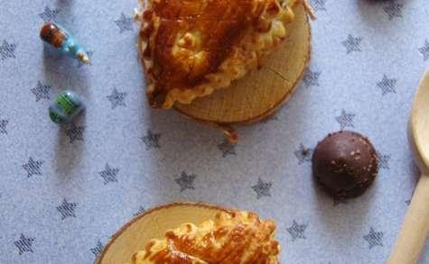 Minis galettes des rois aux rochers chocolat et frangipane