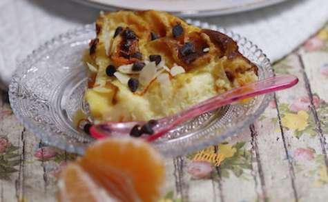 Gâteau onctueux à la clémentine