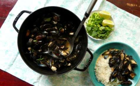 Moules Coco Curry