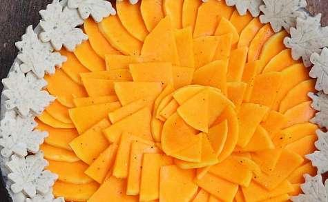 Tarte Courge butternut et Ossau Iraty