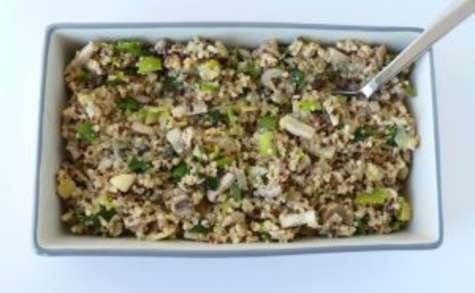 Quinotto, le quinoa façon risotto