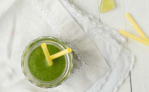Smoothie kale poire orange