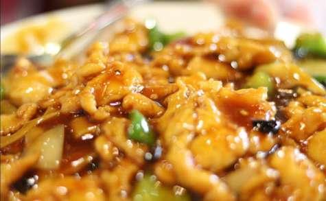 Ragoût de poulet aux champignons secs