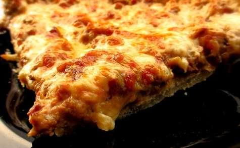 Tarte au jambon et fromage bleu