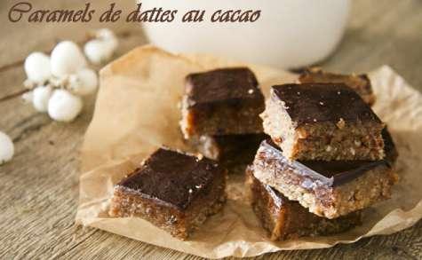Caramels de dattes au cacao