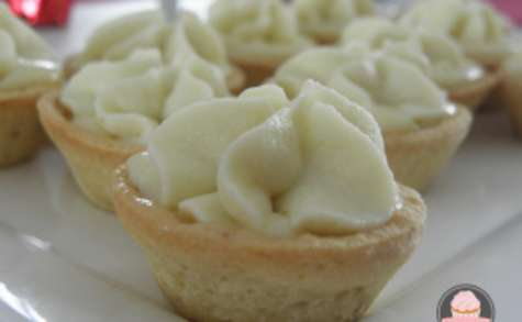 Tartelettes chocolat blanc amandes