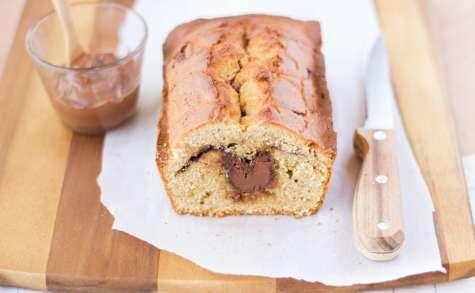 Cake à la pâte à tartiner et à la fleur d'oranger