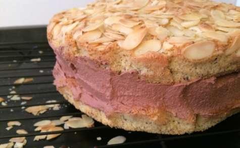 Gâteau moelleux aux amandes et aux noisettes