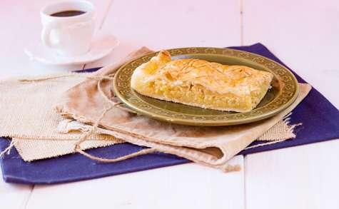 Pithiviers ou galette frangipane aux pommes