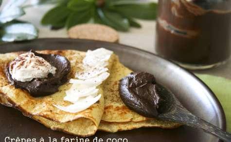 Crêpes à la farine de coco