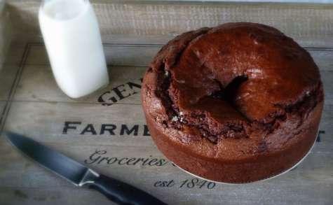 Gâteau fondant au chocolat et à la crème fraîche