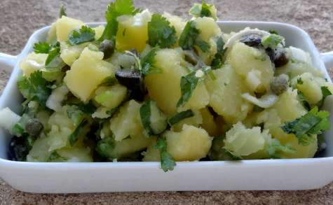 Salade de pommes de terre de Chypre